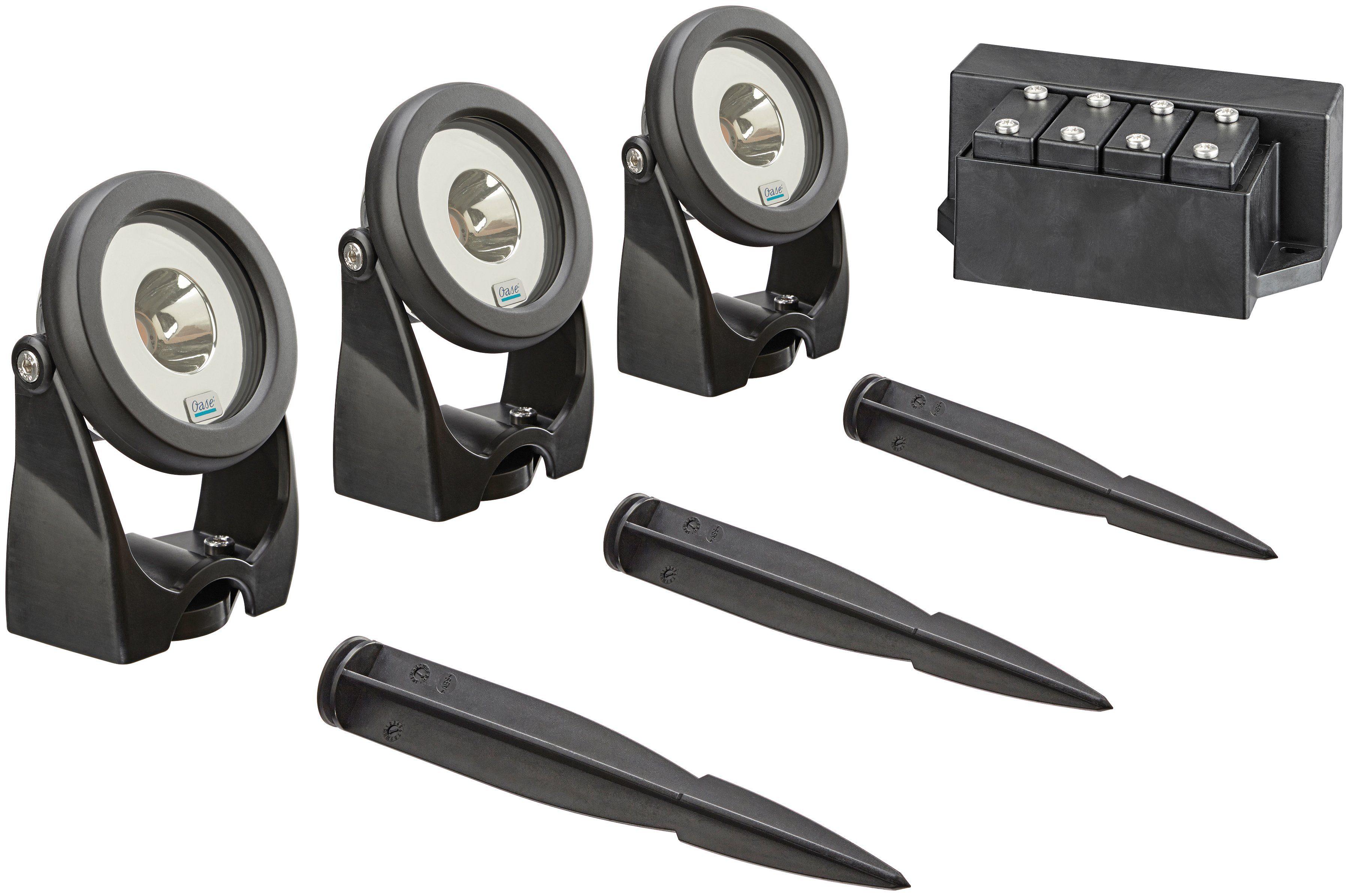 OASE Teichbeleuchtung »LunAqua Power«, LED 3er-Set