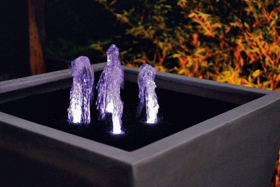 oase teichbeleuchtung lunaled 6s led f r quellsteine online kaufen otto. Black Bedroom Furniture Sets. Home Design Ideas