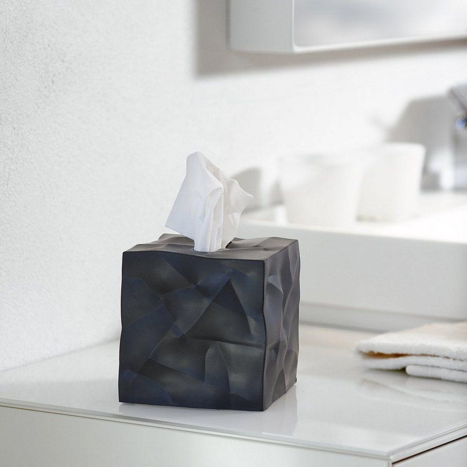 klein more essey papiert cher box wipy cube schwarz. Black Bedroom Furniture Sets. Home Design Ideas