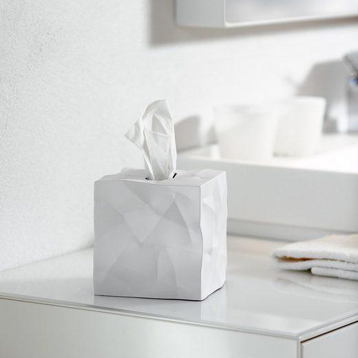 Klein & More Essey Papiertücher-Box WIPY CUBE weiß