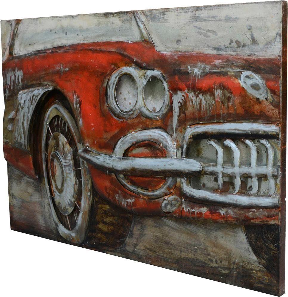 Wandbild »Metall Used Car I«, 120cm x 80cm