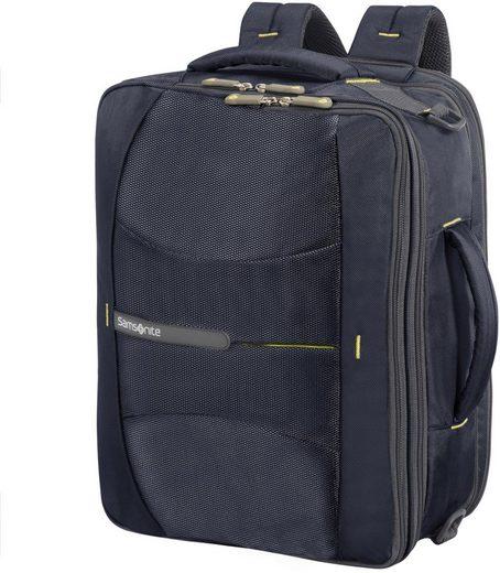 Samsonite Businesstasche mit Rucksackfunktion und 16-Zoll Laptopfach, 4Mation