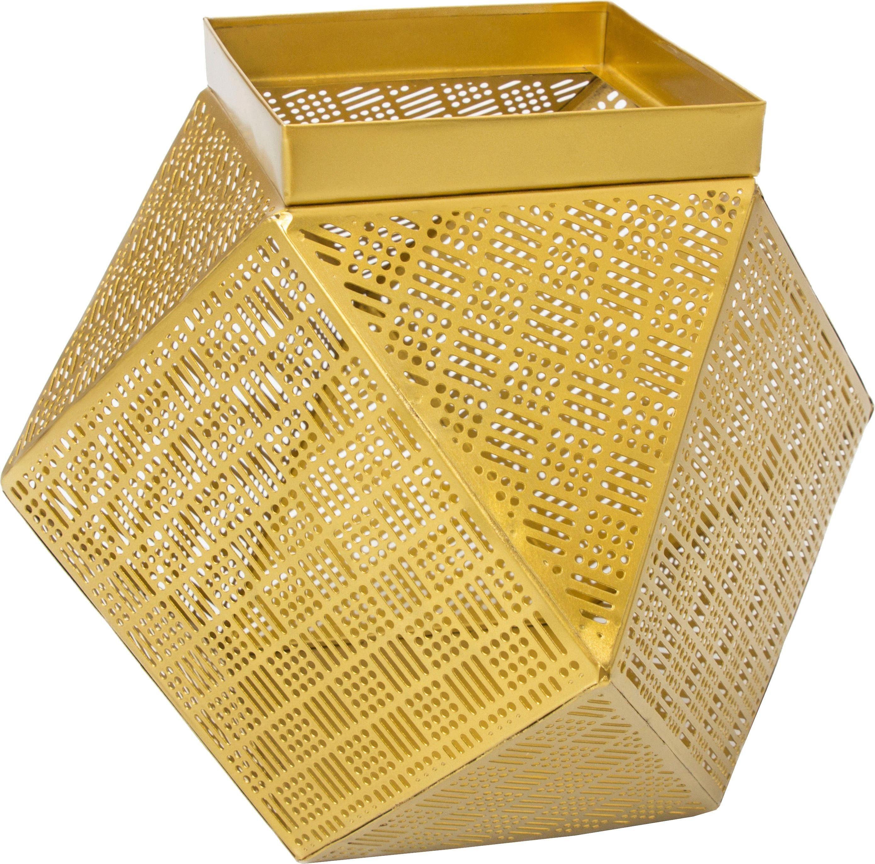Home affaire Korb »Basket Art Gold II«