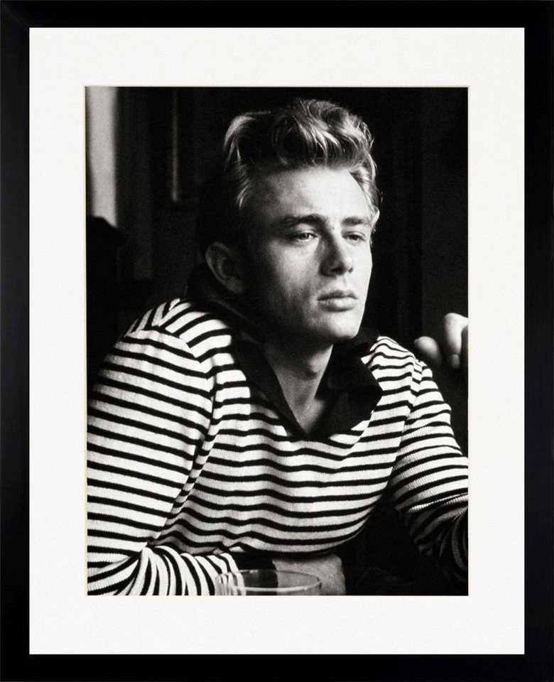 g c bild james dean gerahmt online kaufen otto. Black Bedroom Furniture Sets. Home Design Ideas