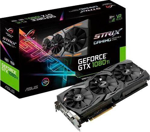 ASUS STRIX 1080 Ti 11 GB GDDR5X Grafikkarte
