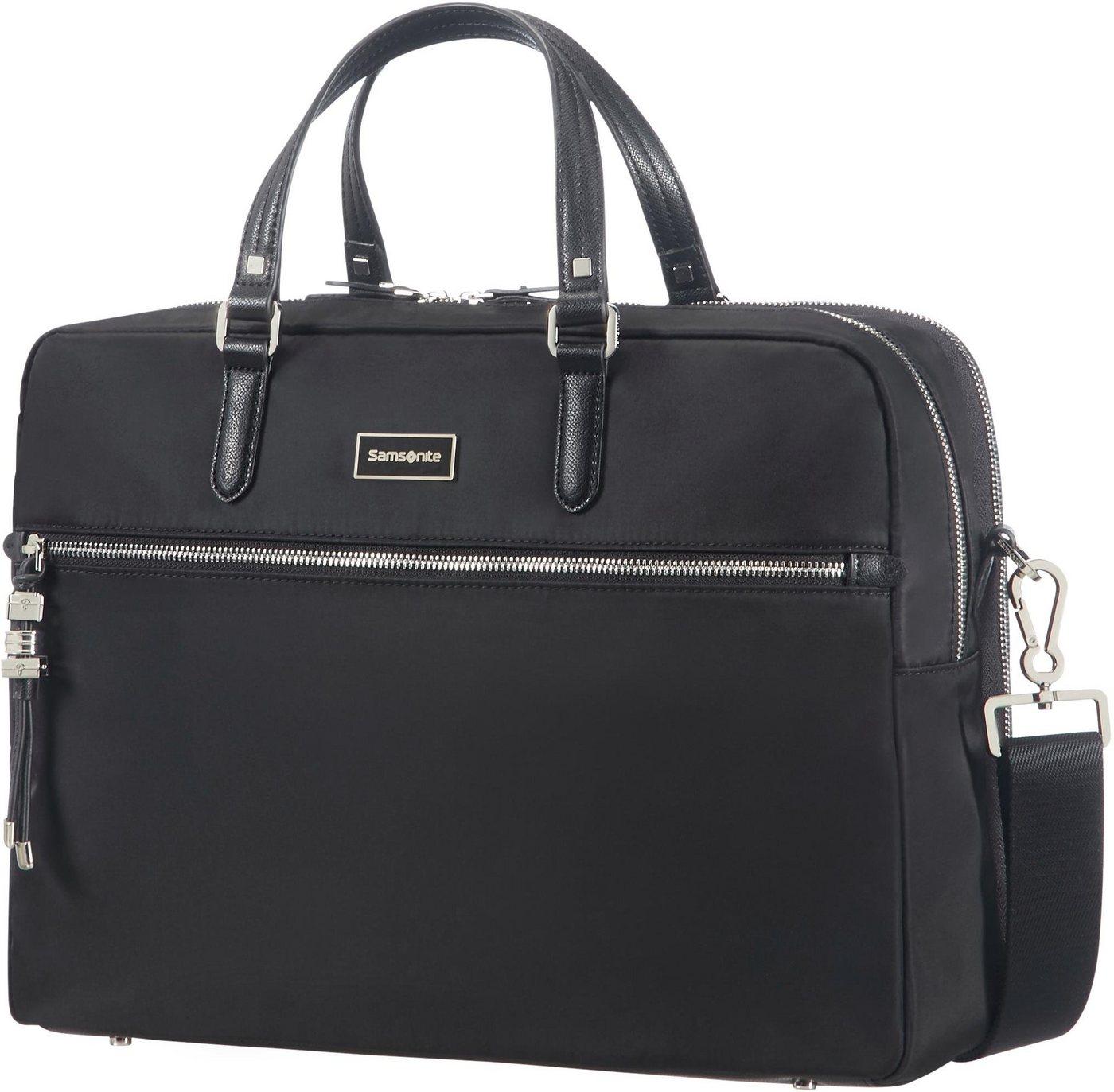 Samsonite Businesstasche »Karissa Biz, 2 Fächer«, mit 15,6-Zoll Laptopfach   Taschen > Businesstaschen > Aktentaschen   Schwarz   Samsonite