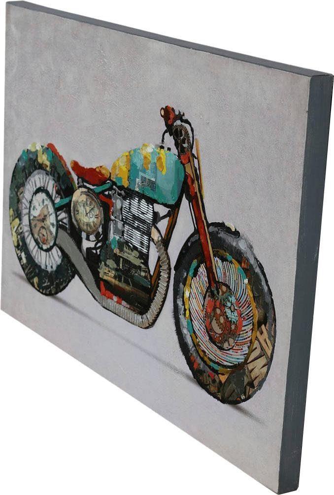 Ölbild »Motorrad«, 60cm x 90cm
