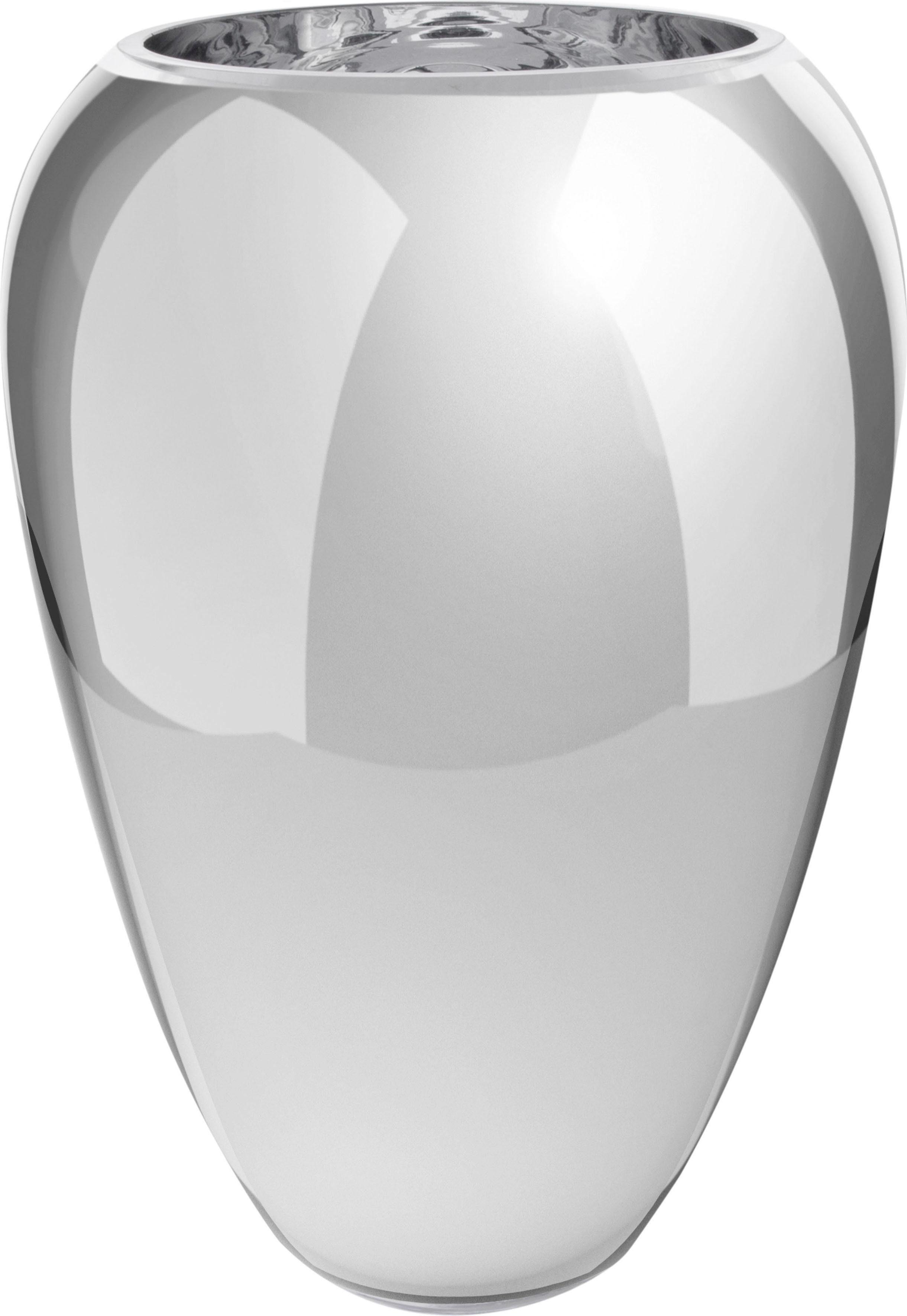 Home affaire Glasvase »Aztekium II Silber«
