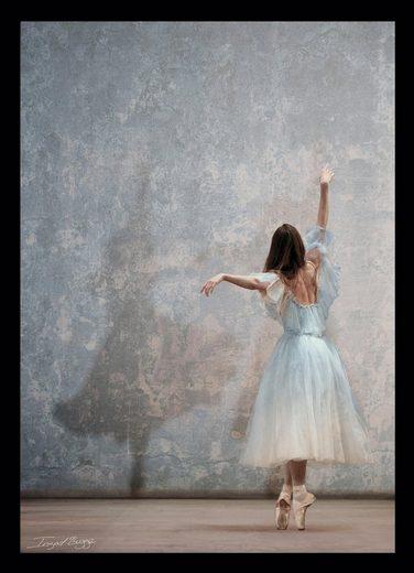 G&C Bild »BALLET DANCER I«, gerahmt