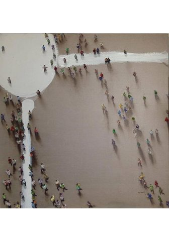 KAYOOM Aliejinis paveikslas »Menschengruppe«