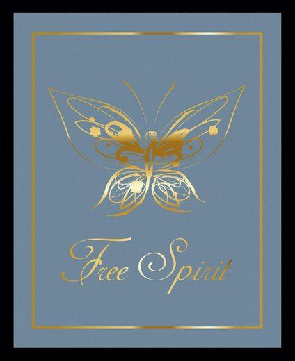 G&C Bild »FREE SPIRIT BLUE«, gerahmt