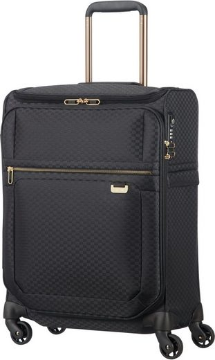 Samsonite Weichgepäck-Trolley »Uplite, 55 cm«, 4 Rollen, mit Top Pocket