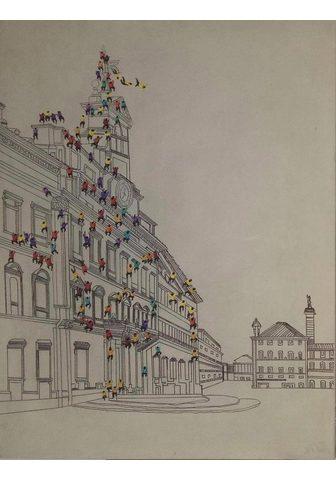 KAYOOM Aliejinis paveikslas »Menschenmenge I«...