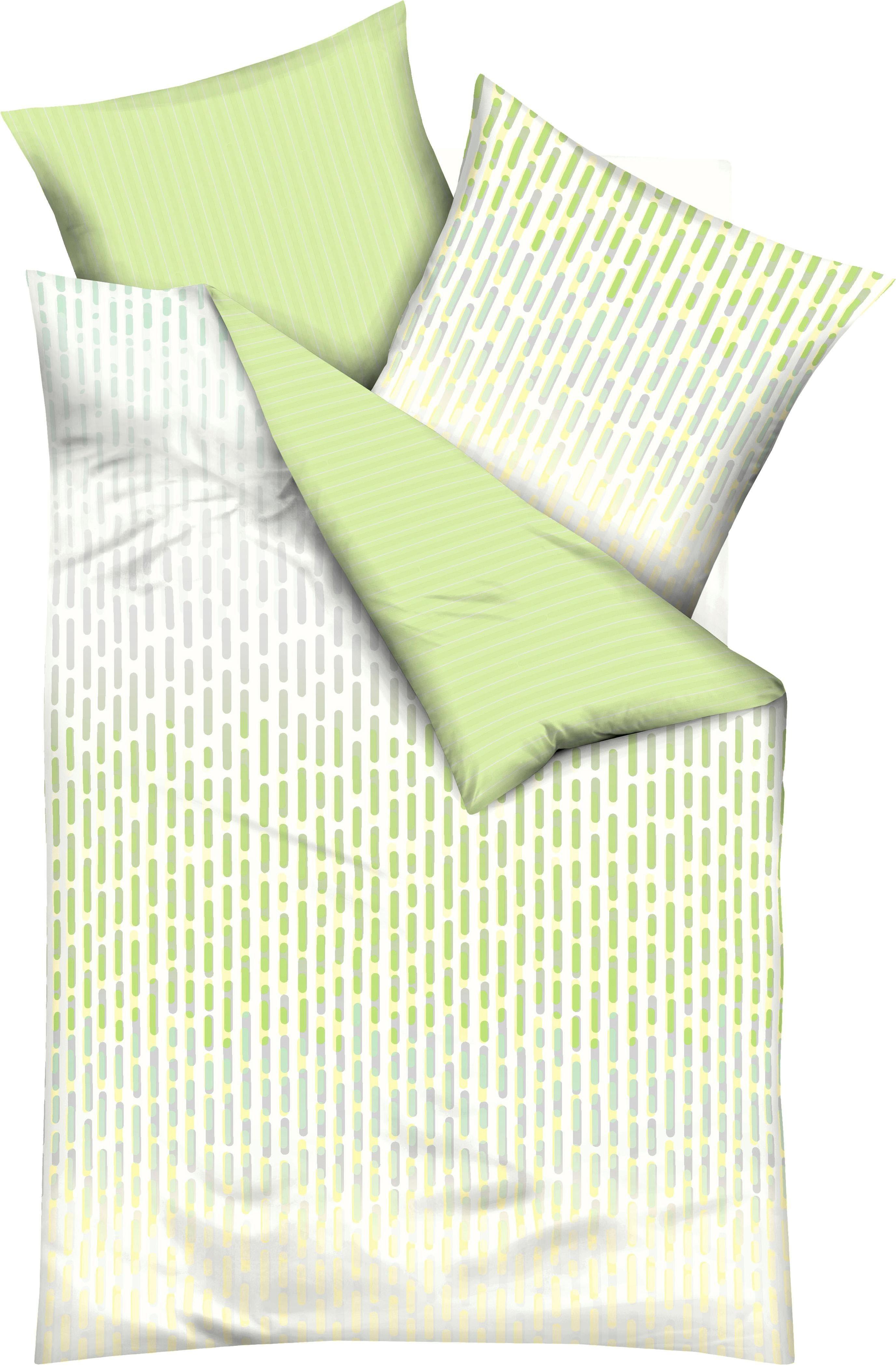 Wendebettwäsche »Intense«, Kaeppel, im Stäbchendesign | Heimtextilien > Bettwäsche und Laken > Wendebettwäsche | Kaeppel