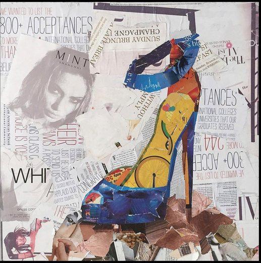 Kayoom Wandbild »Dresscode I«, 52cm x 52cm