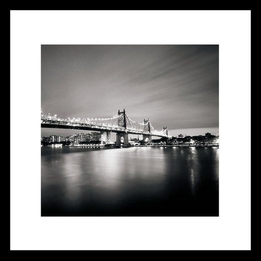 G&C Bild »QUEENSBORO BRIDGE«, gerahmt