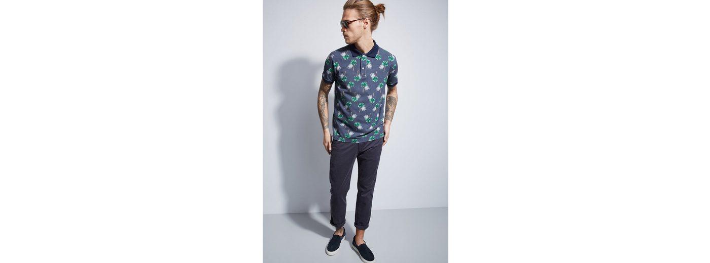Otto Kern Polo-Shirt mit Allover-Print Günstig Kaufen Websites Manchester Billig Besten xb7C4FO