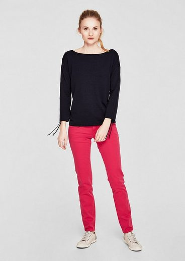s.Oliver RED LABEL Shape Slim: Garment Dye-Jeans
