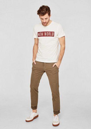 s.Oliver RED LABEL T-Shirt mit Wording