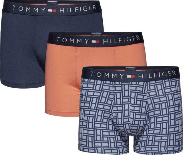 tommy hilfiger -  Boxershorts »3P TRUNK FLAG«
