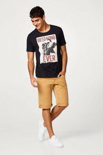 EDC BY ESPRIT Jersey-Shirt mit Foto-Print, aus Baumwolle