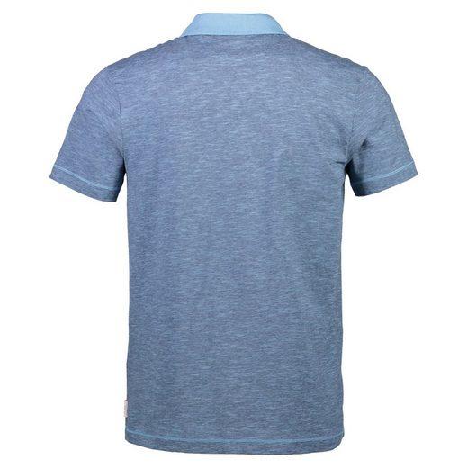 LERROS Poloshirt mit feinem Streifenmuster