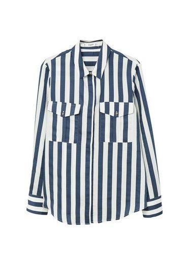 MANGO Soft Streifenhemd