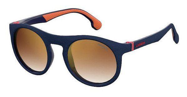 YOUNG SPIRIT LONDON Eyewear Sonnenbrille, in Bicolor-Optik, orange, schwarz-orange