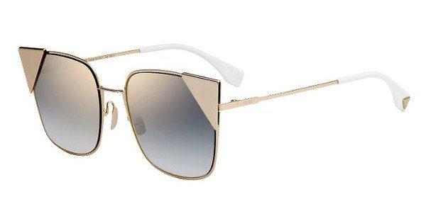 FENDI Fendi Damen Sonnenbrille » FF 0191/S«, rosa, 000/A9 - rosa