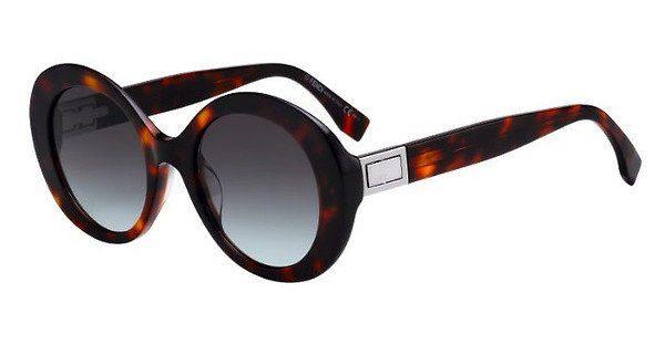 FENDI Fendi Damen Sonnenbrille » FF 0293/S«, braun, 09Q/9K - braun/grün