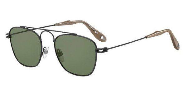 GIVENCHY Givenchy Herren Sonnenbrille » GV 7055/S«, schwarz, 003/QT - schwarz/grün