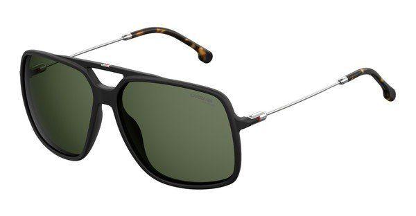 Carrera Eyewear Herren Sonnenbrille » CARRERA 8024/S«, schwarz, 003/UC - schwarz/grün