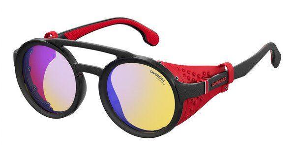 Carrera Eyewear Sonnenbrille » CARRERA 5046/S«, schwarz, 003/HW - schwarz/gelb