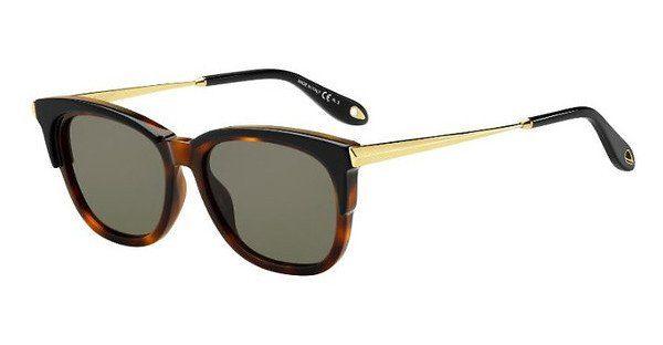 GIVENCHY Givenchy Damen Sonnenbrille » GV 7072/S«, schwarz, 7C5/9O - schwarz/grau