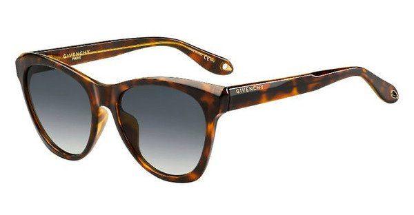GIVENCHY Givenchy Damen Sonnenbrille » GV 7068/S«, schwarz, 807/70 - schwarz