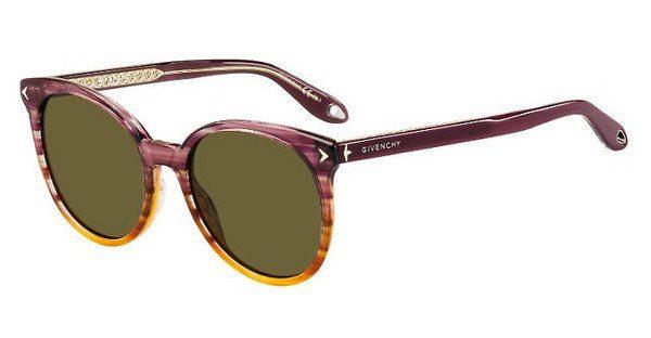GIVENCHY Givenchy Damen Sonnenbrille » GV 7077/S«, gelb, 40G/QT - gelb/grün