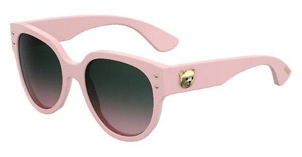 Moschino Damen Sonnenbrille » MOS013/S«, rosa, 35J/JP - rosa/ rosa