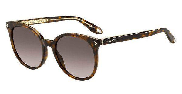 GIVENCHY Givenchy Damen Sonnenbrille » GV 7077/S«, braun, 086/3X - braun/rosa