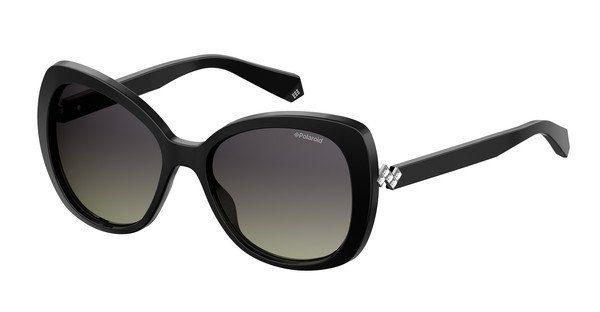 Polaroid Damen Sonnenbrille » PLD 4063/S/X«, blau, PJP/MF - blau/lila