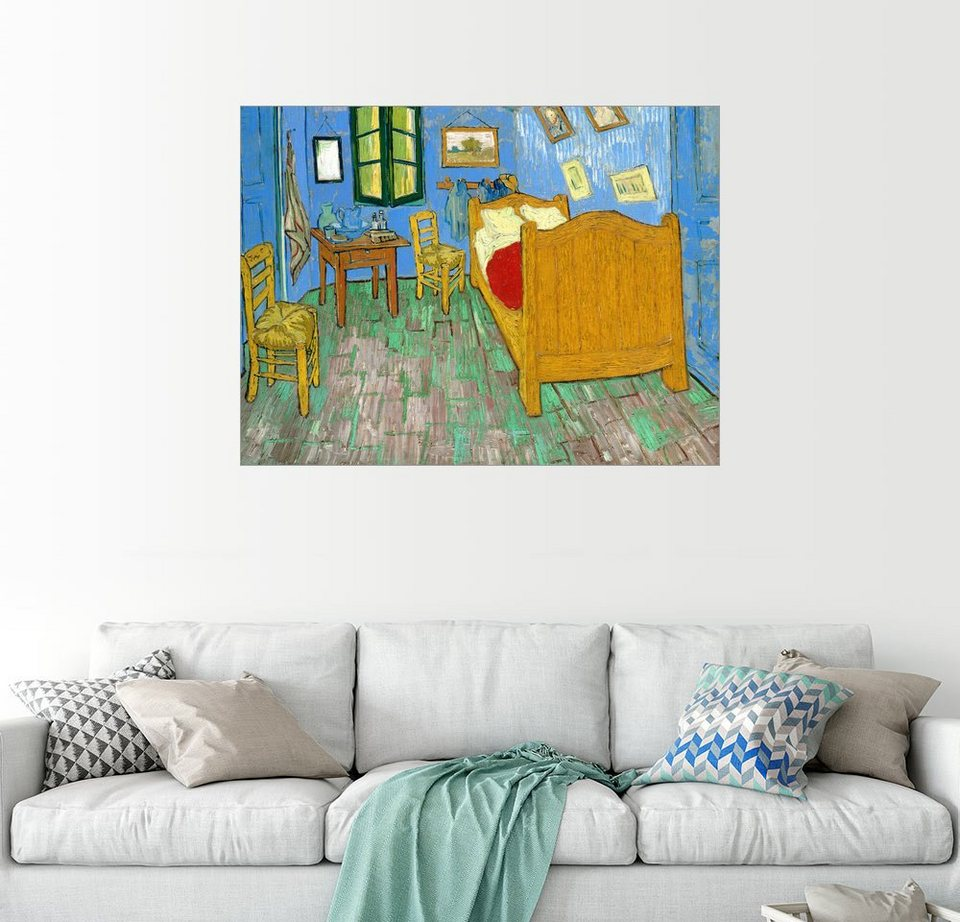 Posterlounge Wandbild Vincent Van Gogh Van Gogh S Schlafzimmer In