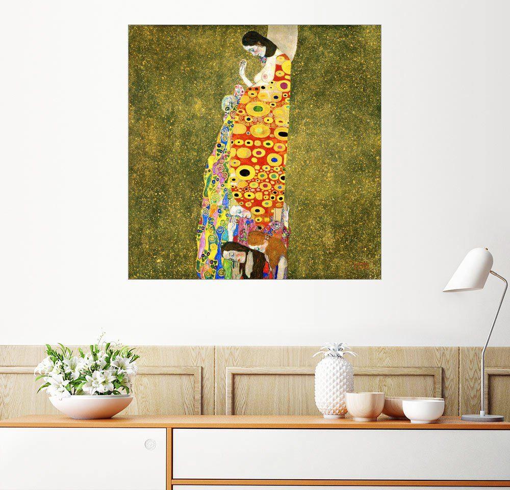 Posterlounge Wandbild - Gustav Klimt »Die Hoffnung II«