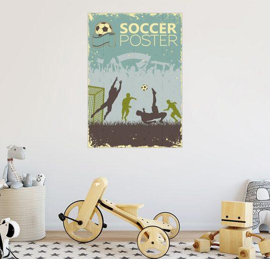Posterlounge Wandbild - TAlex »Fußball«