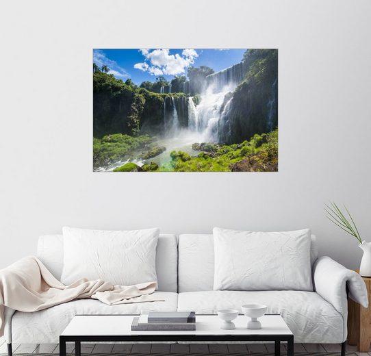 Posterlounge Wandbild - Michael Runkel »Wasserfall Foz de Iguazu«