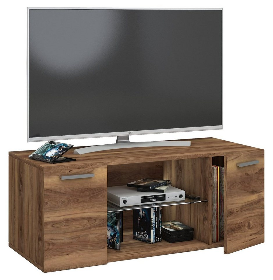 vcm tv wandboard jusa tv m bel mit zwei t ren aus holz online kaufen otto. Black Bedroom Furniture Sets. Home Design Ideas