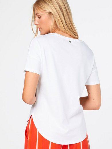 Rich & Royal Print-Shirt, Ziersteine