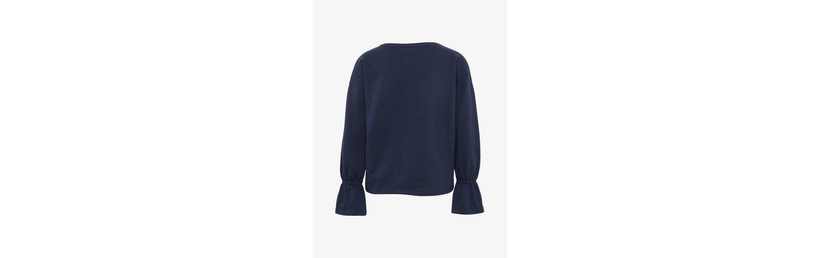 Tom Tailor Denim Sweater Shirt mit Schmetterlings-Stickerei Steckdose Mit Paypal Um Sammlungen Auslass Wirklich Qualität Frei Für Verkauf 8fHwBsK