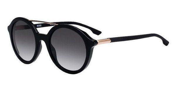 Boss Damen Sonnenbrille » BOSS 0978/S«, schwarz, 807/9O - schwarz/grau