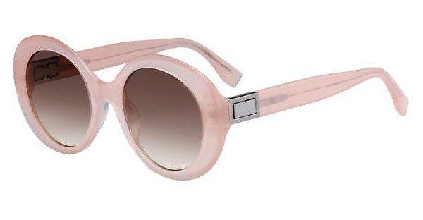 FENDI Fendi Damen Sonnenbrille » FF 0293/S«, braun, 086/IB - braun/ grün