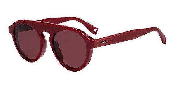 FENDI Fendi Herren Sonnenbrille » FF M0013/S«, rot, C9A/U1 - rot/rosa