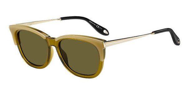 GIVENCHY Givenchy Damen Sonnenbrille » GV 7072/S«, gelb, C1E/70 - gelb